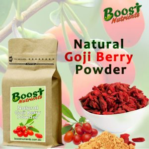 Natural Goji Berry Powder Riches In Fiber And Protein Boost Nutrients