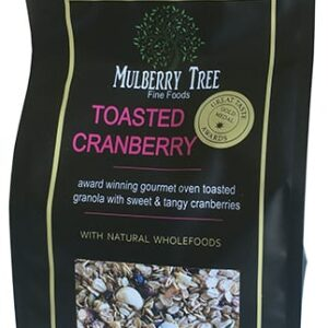 Toasted Cranberry Granola 500g - Mulberry Tree