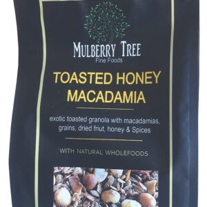 Toasted Honey & Macadamia Granola 500g Mulberry Tree