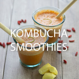 Why kombucha is one of the best ingredients for a smoothie