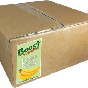 Organic  Banana Fruit Powder 5kg Bulk Buy - Boost Nutrients