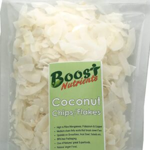 Coconut Chips Organic 250g - Boost Nutrients
