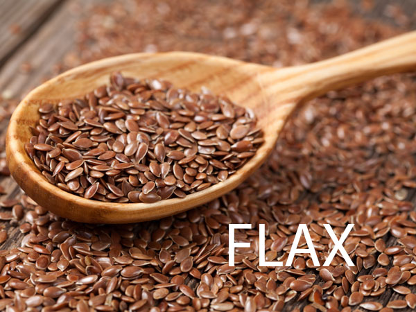 flax seed for breakfast shake